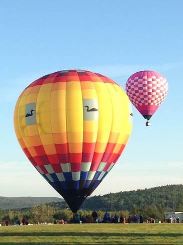 Hot Air Balloon Fiesta Sussex, New Brunswick Canada