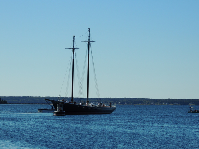 BlueNose II Launch Lunenburg Nova Scotia September 6th 2013 Lunenburg, Nova Scotia Canada