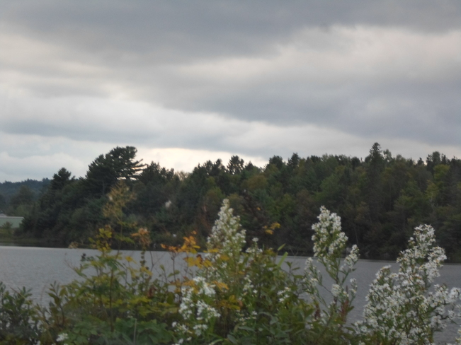 Unsettled weather in Elliot Lake Elliot Lake, Ontario Canada