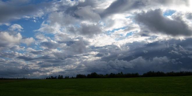 clouds Nappan, Nova Scotia Canada