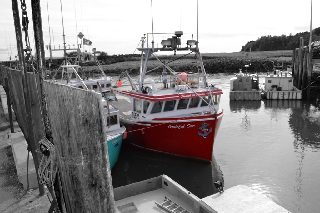 Canadian Geographic Photo Club - New Brunswick Fishing Boats