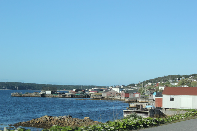 village by the sea Port Saunders, Newfoundland and Labrador Canada