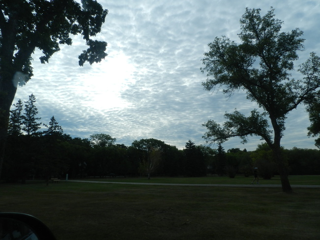 Cloudy Morning Winnipeg, Manitoba Canada
