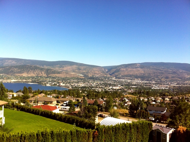 From Husla Highlands, Penticton Penticton, British Columbia Canada