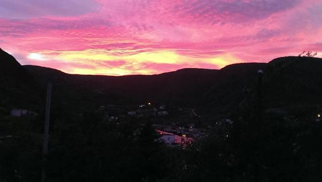 Beautiful Evening Petty Harbour-Maddox Cove, Newfoundland and Labrador Canada
