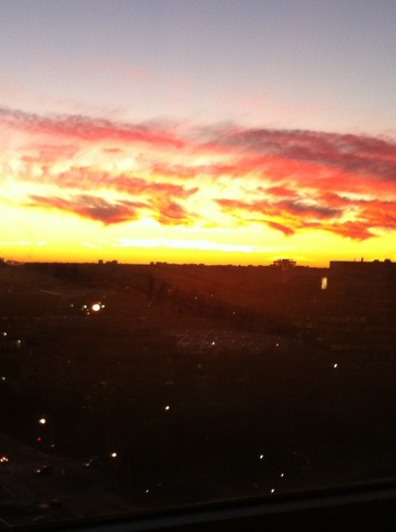Awesome Sunset North York, Ontario Canada