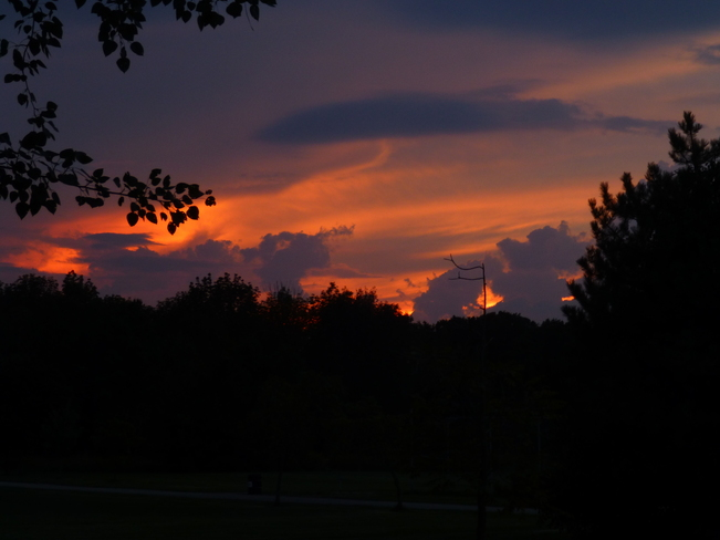 Sunset after the storm Waterloo, Ontario Canada