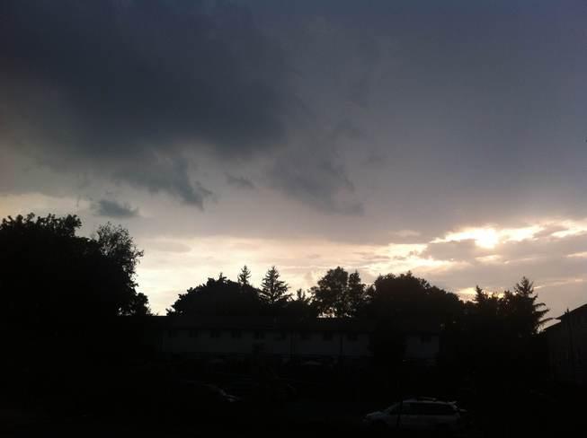 Inbetween storms Brantford, Ontario Canada