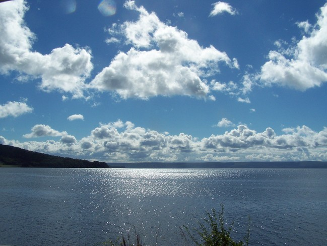 Clouds and Water Baddeck, Nova Scotia Canada