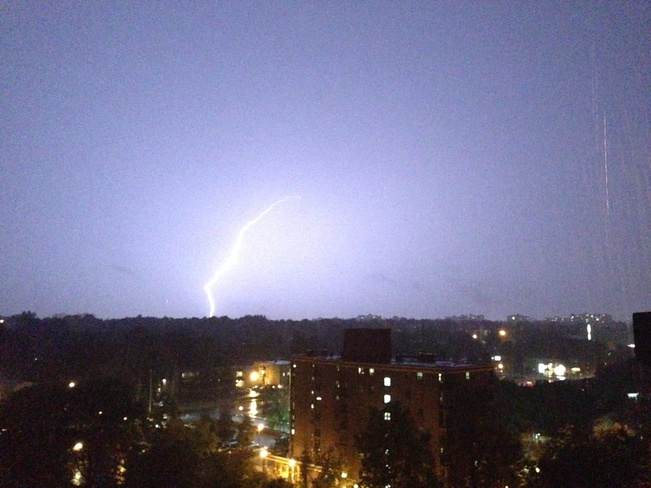 Awesome lightning show sept 11 London, Ontario Canada
