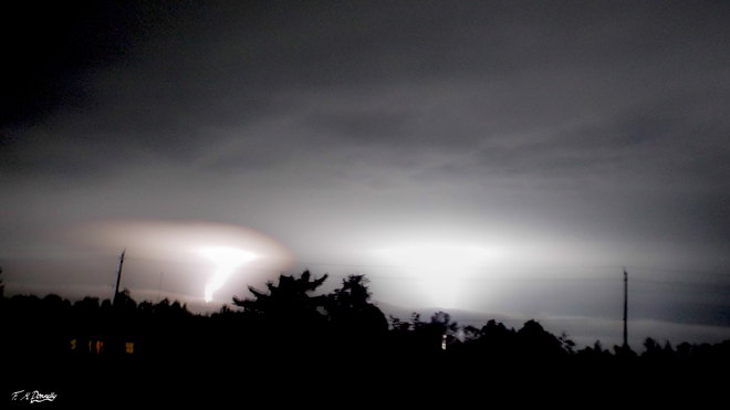Awesome lightning during yesterdays storms Smiths Falls, Ontario Canada