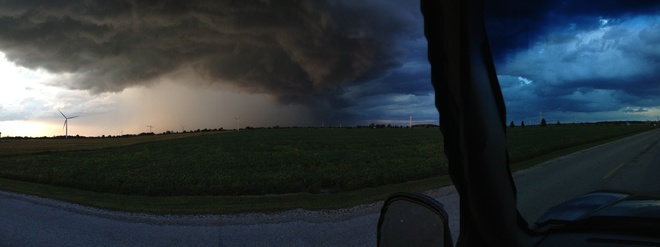 storm Olinda, Ontario Canada