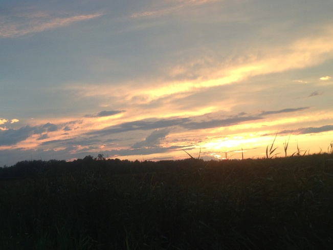 sunset Orleans, Ontario Canada