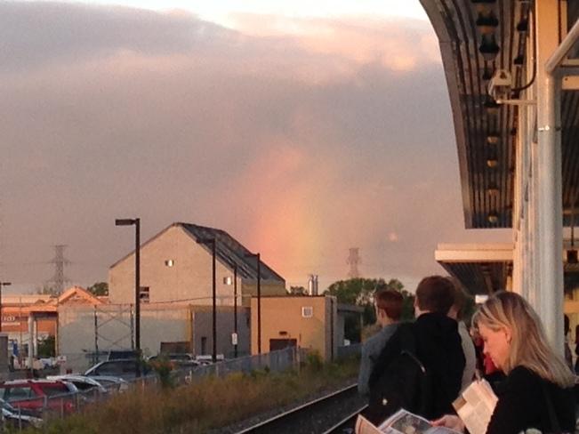 Rainbow Cloud Burlington, Ontario Canada