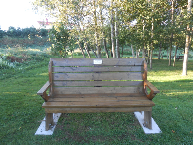 R.I.P. Jimmy Rogers Bench Canning, Nova Scotia Canada