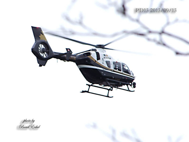 Its a bird, its a plane, no its the sound of the OPP Helicopter Port Dover, Ontario Canada