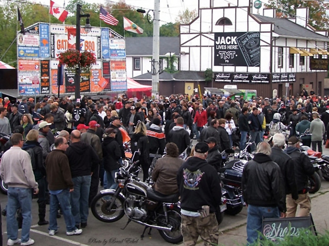 Were you at Friday the 13th in Port Dover Guelph, Ontario Canada