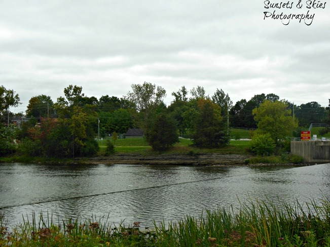 Gloomy day Belleville, Ontario Canada