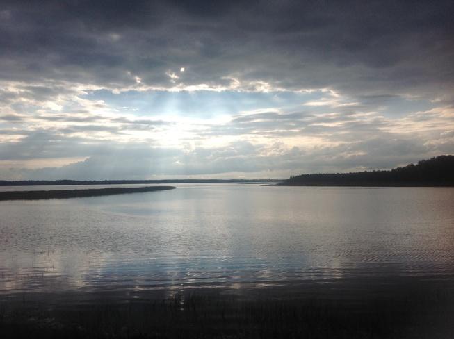 Evening Sky Pugwash, Nova Scotia Canada
