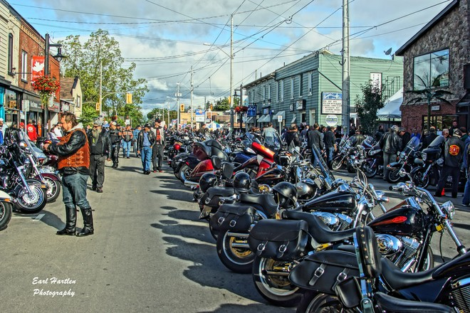 Friday The 13Th 9:32am Port Dover, Ontario Canada