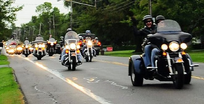 """The 13th Annual Operation Patriots """"Let's Roll"""" Tribute Ride Hamlin, New York United States"""