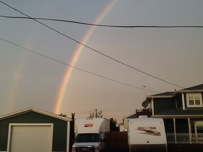 Rainbow Grand Bank, Newfoundland and Labrador Canada