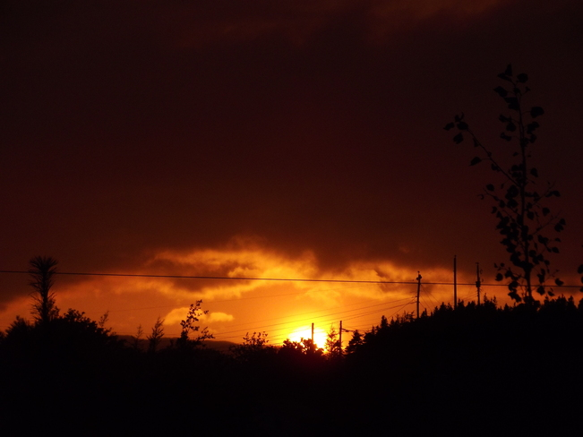 September Sunset Cottlesville, Newfoundland and Labrador Canada