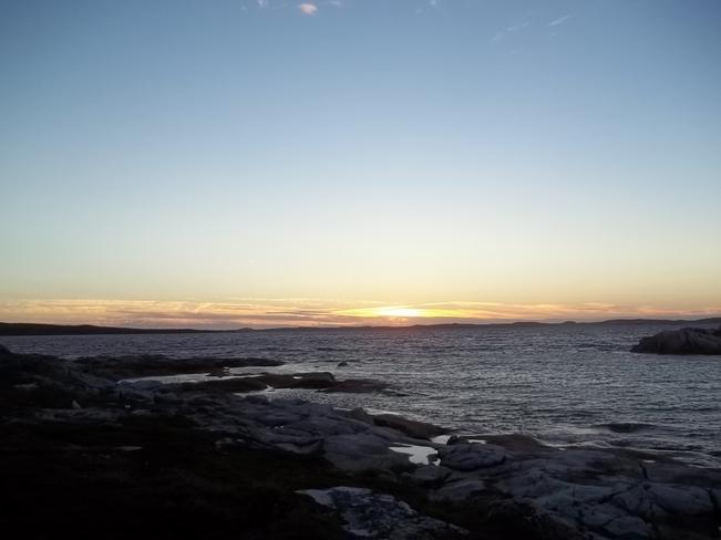 Evening Sky Birchy Bay, Newfoundland and Labrador Canada