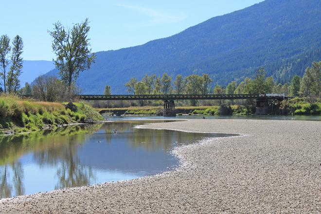 River view Slocan Slocan, British Columbia Canada