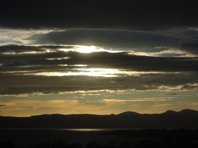 sunset west shore Victoria, British Columbia Canada