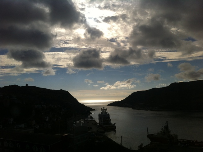 Gorgeous View of the Harbour St. John's, Newfoundland and Labrador Canada