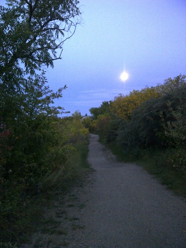 Regina Beach Moonrise Regina Beach, Saskatchewan Canada