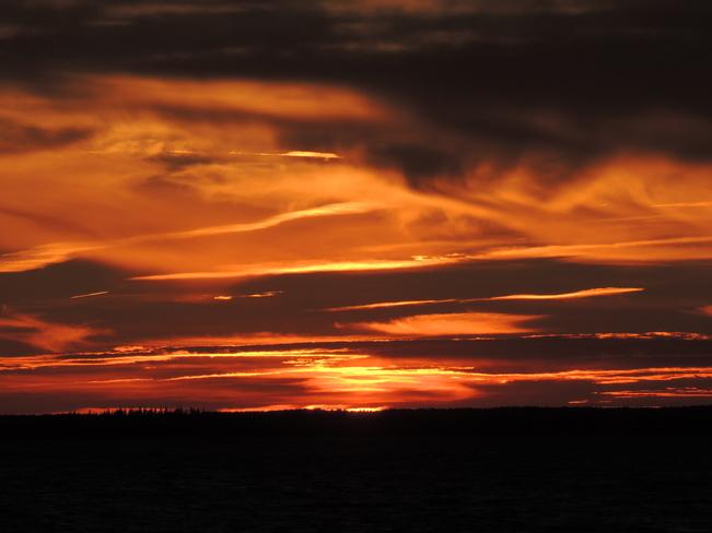 Deep Cove Sunset September 15th 2013 Blandford, Nova Scotia Canada