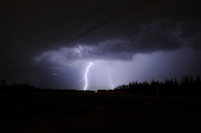 McMurray Lightning Fort McMurray, Alberta Canada