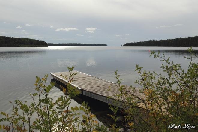 Clear Lake Jette Wasagaming, Manitoba Canada