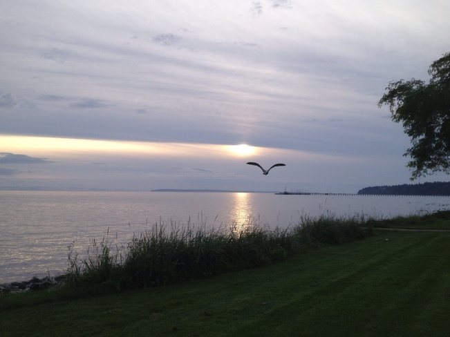 Sunset at White Rock Beach! White Rock, British Columbia Canada