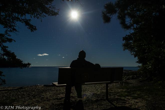 A Lunar-tic in his Glory Wawa, Ontario Canada