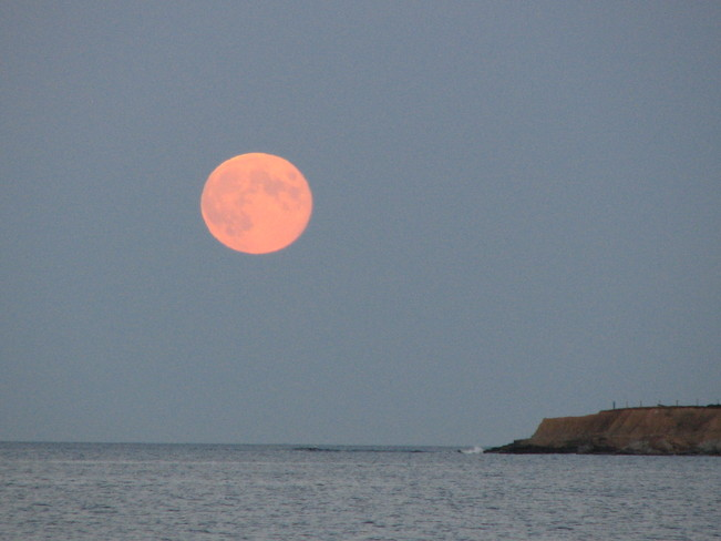 Harvest Moon Glace Bay, Nova Scotia Canada