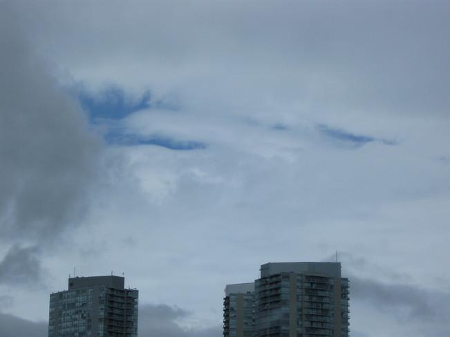 some blue Surrey, British Columbia Canada