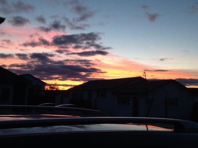 Sunset Grand Bank, Newfoundland and Labrador Canada