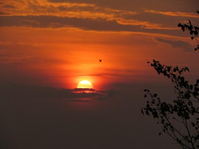 Valley sunset Douglas, Ontario Canada