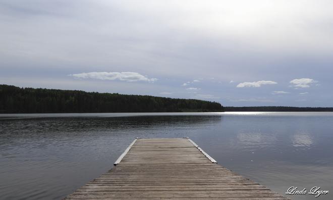 On Clear Lake Wasagaming, Manitoba Canada
