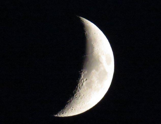 Fingernail Moon Espanola, Ontario Canada