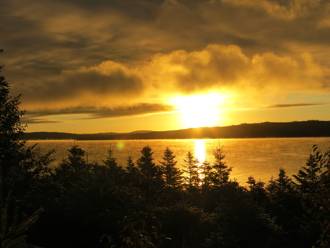 Sunrise on Red Indian Lake Buchans, Newfoundland and Labrador Canada