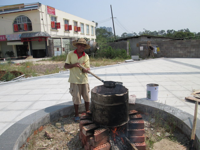 Hot Tar Nanning, Guangxi China