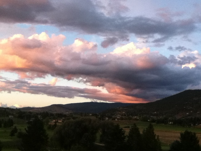 shortly b4 sunset South Vernon, British Columbia Canada