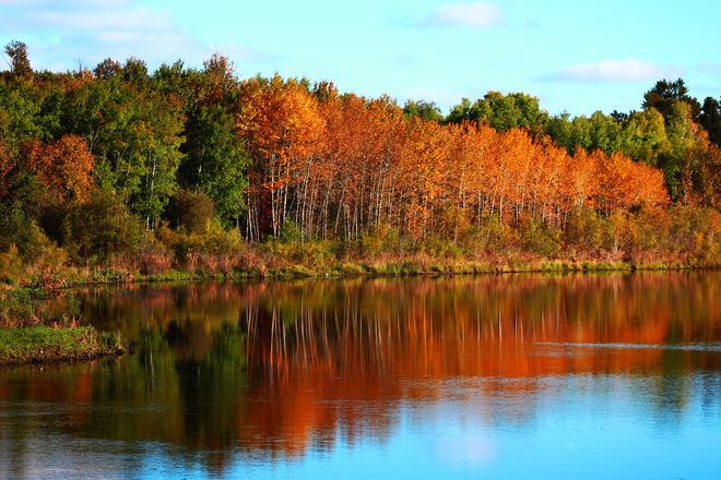 Fall Season The Pas, Manitoba Canada