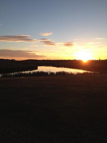 sunrise Lloydminster, Saskatchewan Canada