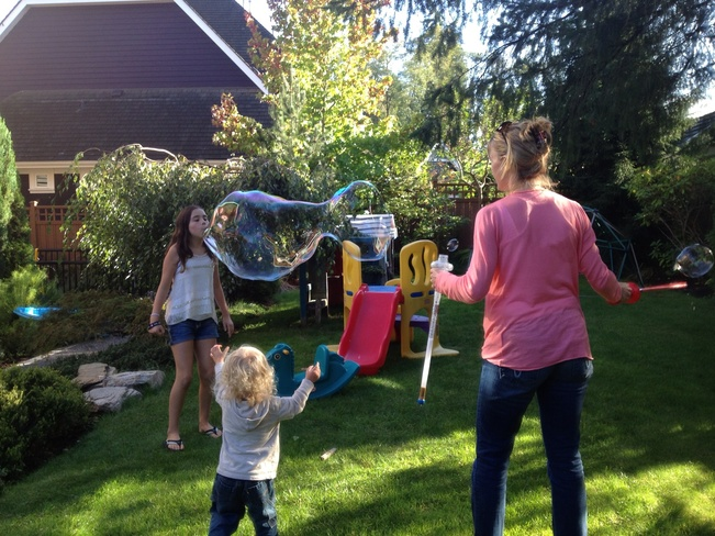 Bubbles! Surrey, British Columbia Canada