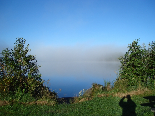 Where in the Fog are we ? Kirkland Lake, Ontario Canada